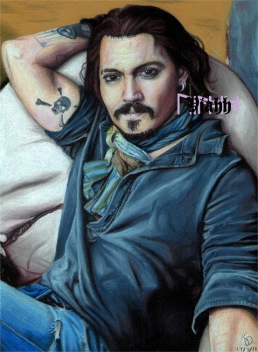 Johnny Depp by WorldsCollide